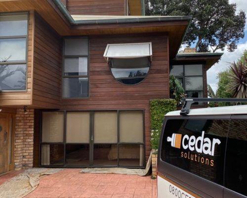Cedar oiling Auckland